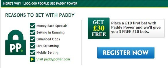 how to use paddy power free bet